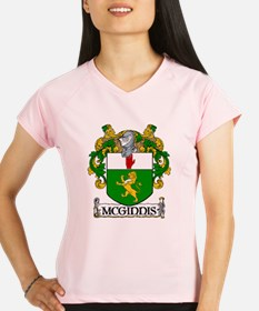 McGinnis Coat of Arms Women's Sports T-Shirt