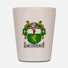 McGinnis Coat of Arms Shot Glass