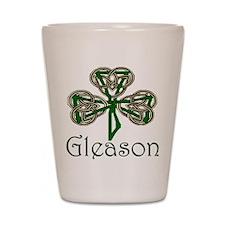 Gleason Shamrock Shot Glass