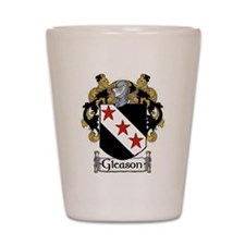 Gleason Coat of Arms Shot Glass
