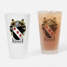 Gleason Coat of Arms Pint Glass