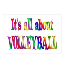 About Volleyball Postcards (Package of 8)