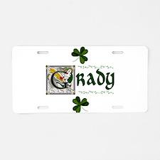 Grady Celtic Dragon Aluminum License Plate