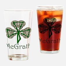 McGrath Shamrock Pint Glass