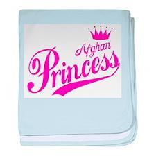 Afghan Princess baby blanket