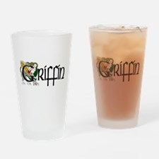 Griffin Celtic Dragon Pint Glass