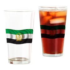 Wavy Afghanistan 1992 Flag Pint Glass