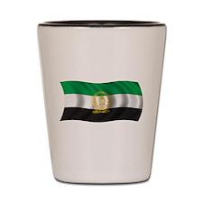 Wavy Afghanistan 1992 Flag Shot Glass