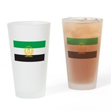 Afghanistan 1992 Flag Pint Glass