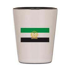 Afghanistan 1992 Flag Shot Glass