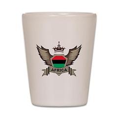 Africa Emblem Shot Glass