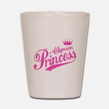 Albanian Princess Shot Glass