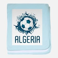 Hip Algeria Football baby blanket
