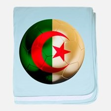 Algeria World Cup baby blanket