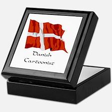 Danish Cartoonist Keepsake Box