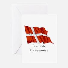 Danish Cartoonist Greeting Cards (Pk of 10)