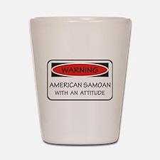 Attitude American Samoa Shot Glass