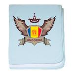 Andorra Emblem baby blanket