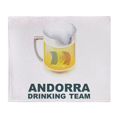 Andorra Drinking Team Throw Blanket