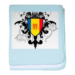 Stylish Andorra baby blanket