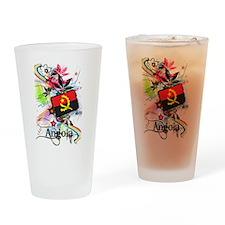 Flower Angola Pint Glass