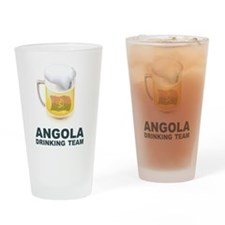 Angola Drinking Team Pint Glass
