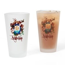 Butterfly Anguilla Pint Glass