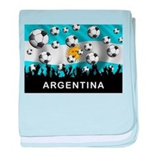 World Cup Argentina baby blanket