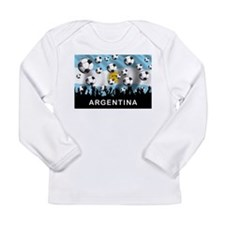 World Cup Argentina Long Sleeve Infant T-Shirt