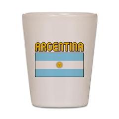 Argentina Shot Glass