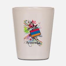 Flower Armenia Shot Glass