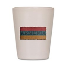 Vintage Armenia Shot Glass