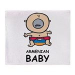 Armenian Baby Throw Blanket