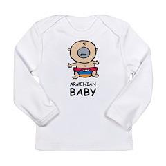 Armenian Baby Long Sleeve Infant T-Shirt