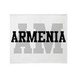 AM Armenia Throw Blanket