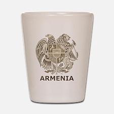 Vintage Armenia Shot Glass