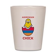 Armenian Chick Shot Glass