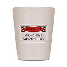 Attitude Armenian Shot Glass
