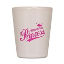 Armenian Princess Shot Glass