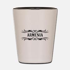 Tribal Armenia Shot Glass