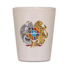 Armenia Coat Of Arms Shot Glass