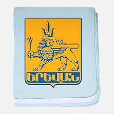 Yerevan Coat Of Arms baby blanket