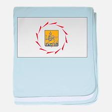 Yerevan Flag baby blanket
