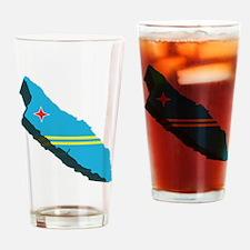 3D Aruba Pint Glass