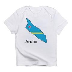 Map Of Aruba Infant T-Shirt
