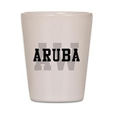 AW Aruba Shot Glass