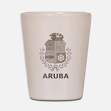 Vintage Aruba Shot Glass