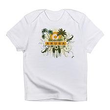 Palm Tree Aruba Infant T-Shirt