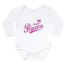 Aruban Princess Long Sleeve Infant Bodysuit