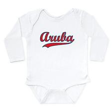 Retro Aruba Onesie Romper Suit